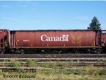 CN Covered Hopper 109570 on the 403 West